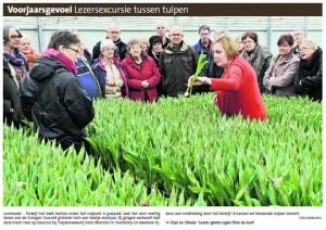 Noordhollands Dagblad 16 januari 2013, voorpagina